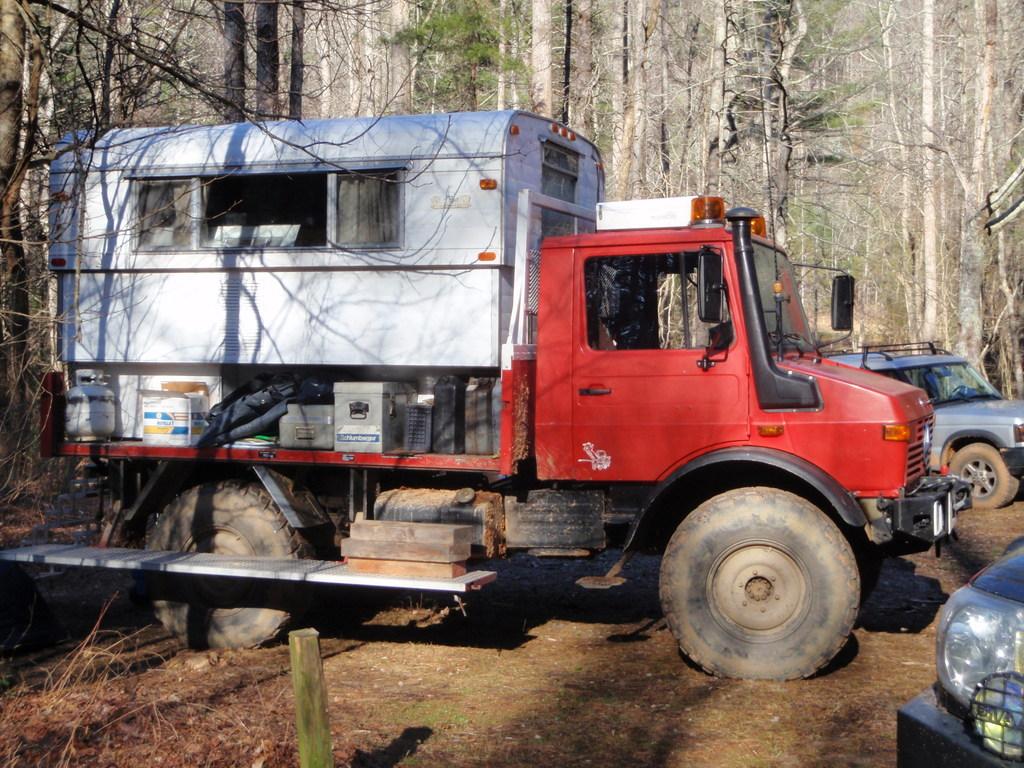 Unimog Alaskan Camper On Utility Bed Truck Camper Hq