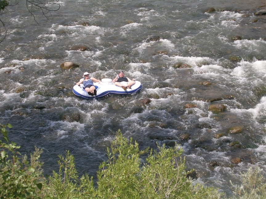 Floating the river is a popular summer activity which depends on healthy river flows. Floating the river is a popular summer activity which depends on healthy river flows.