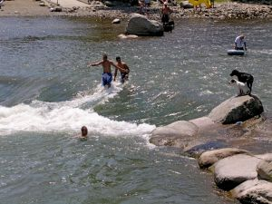 Summer fun Truckee River at Wingfield Park