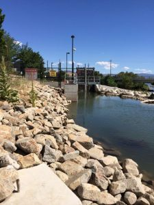 TMWA Sparks Truckee River Treatment Plant Intake