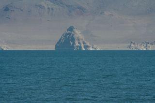 Pyramid at Pyramid Lake