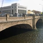 Old Virginia Street Bridge in 2014 in downtown Reno