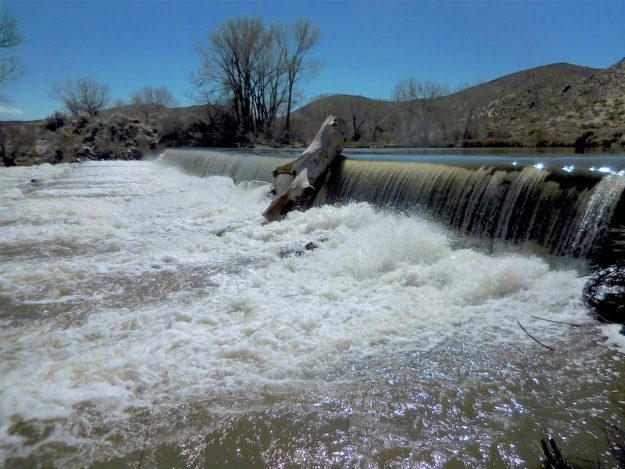 Carson River at Mexican Dam at Silver Saddle Park March 28, 2018.