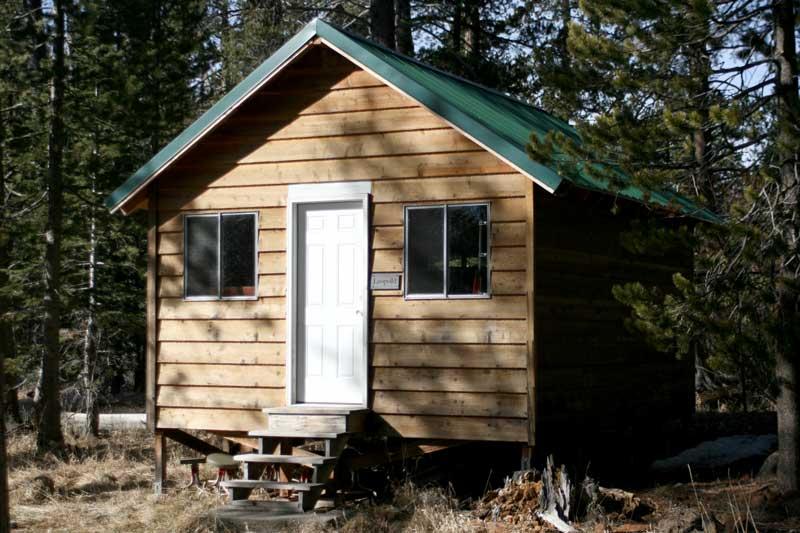 Starker Leopold's cabin still stands at Sagehen Creek Field Station. Feb 5, 2015.