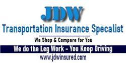 JDW Commercial Truck Insurance Florida