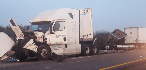 Indiana semi crash