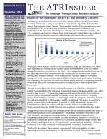 ATRInsider - November 2013 Vol. 9 Issue 2