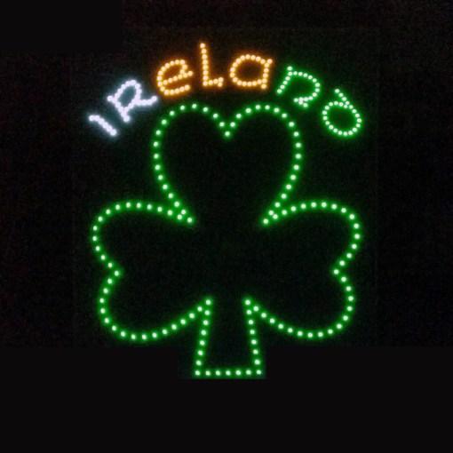 Ireland Truck LED Logo Light