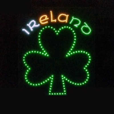 Ireland Truck LED Logo Light