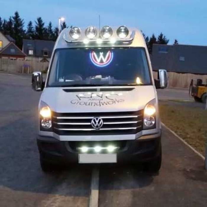 VW Truck light LED logo