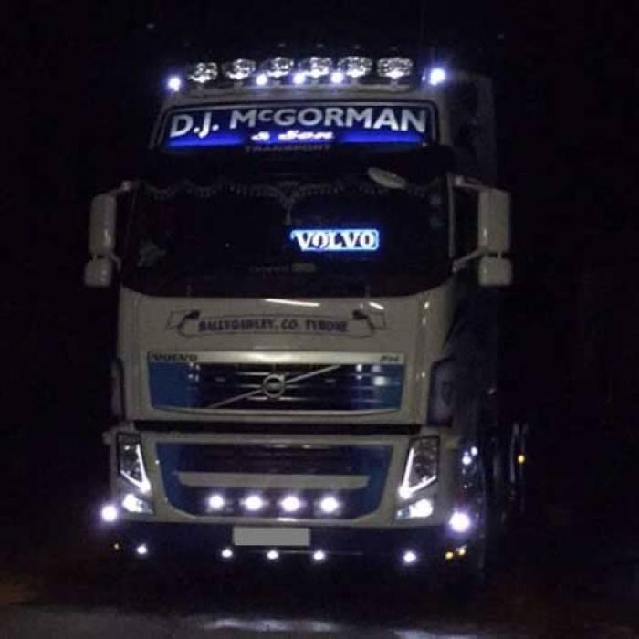 VOLVO Truck light LED logo