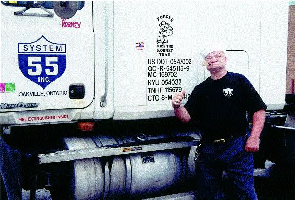 Hes Popeye the Trucking Man  Truck News