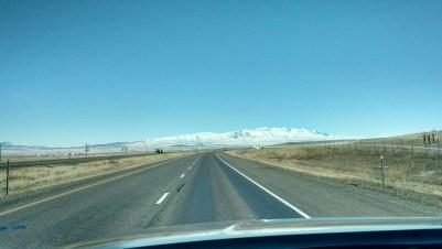 Mountains in Idaho.
