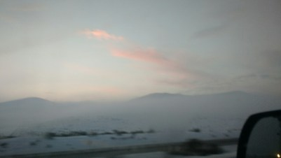 Sunset in Oregon.