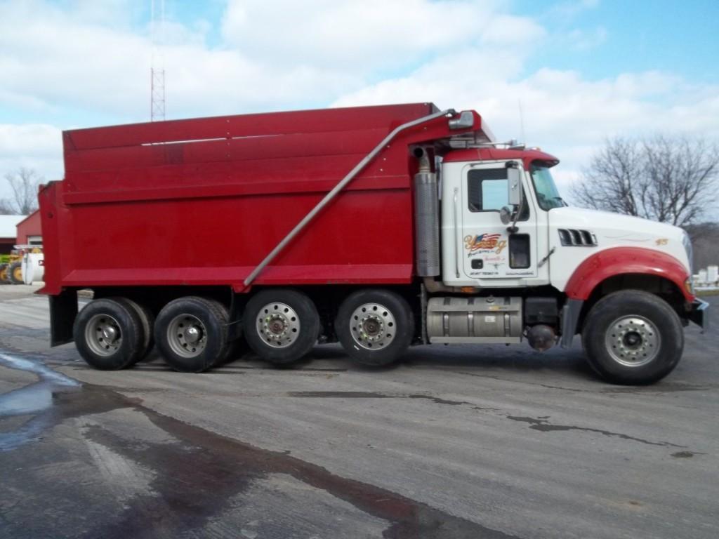 hight resolution of 2007 mack dump truck dump truck quad axle for sale html autos
