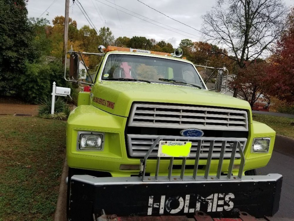 medium resolution of new fluids 1988 ford f 700 heavy wrecker truck
