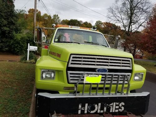 small resolution of new fluids 1988 ford f 700 heavy wrecker truck