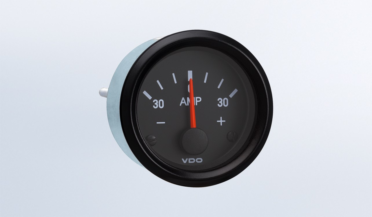 hight resolution of  not require external shunt 12v ammeter cockpit international by series instruments displays and clusters vdo instruments and accessories