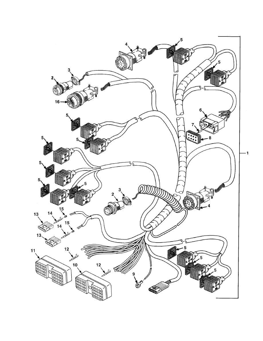 Figure 47A. Digital Controller Wiring Harness (Model B