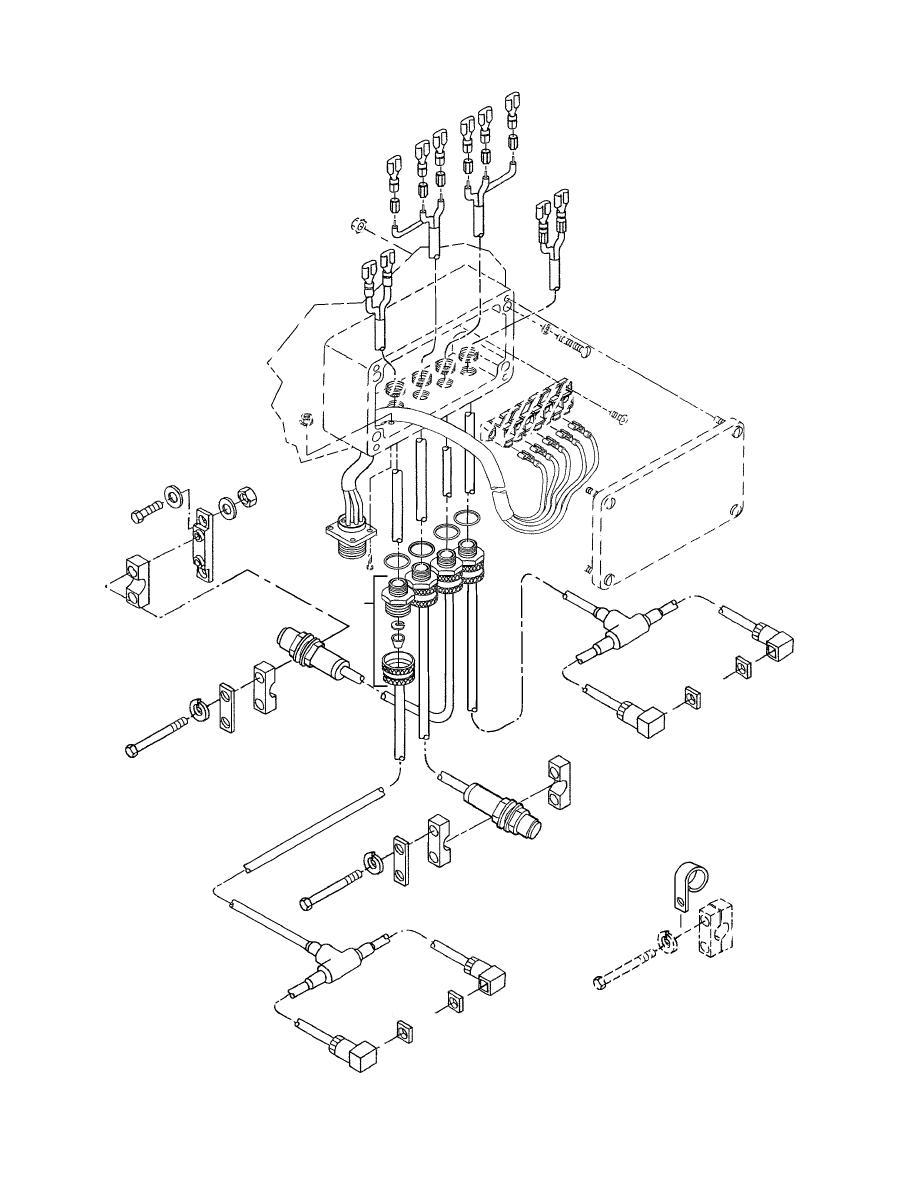 Figure 47B. Main Frame Junction Box Wiring Harness (Model