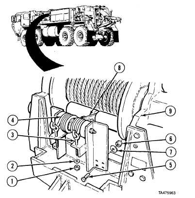 17-11.2. HEAVY-DUTY WINCH CABLE TENSIONER REMOVAL/REPAIR
