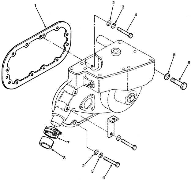 FIG.42 GOVERNOR MOUNTING