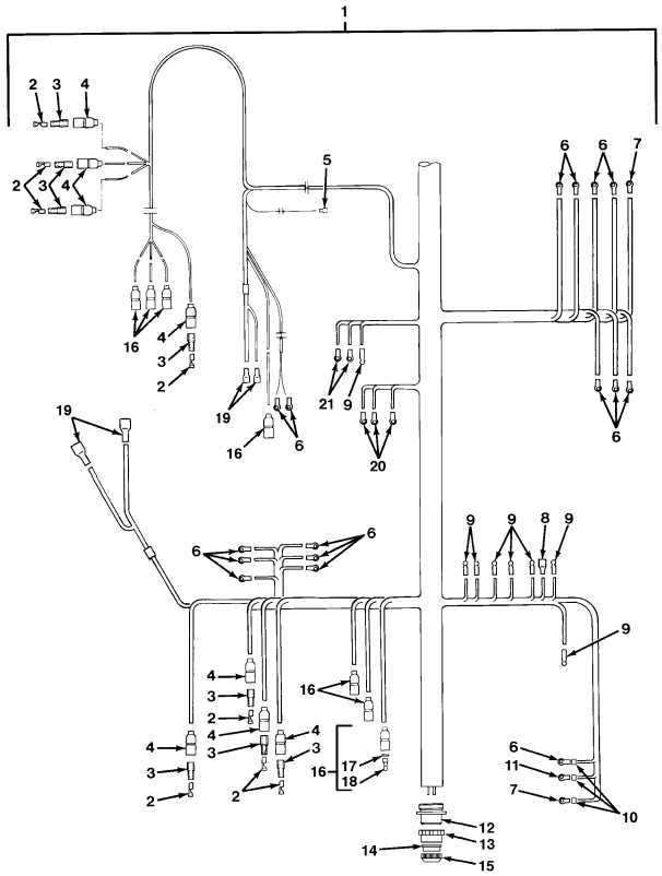 FIG.122 CAB WIRING HARNESS (SHEET 1 OF 2)