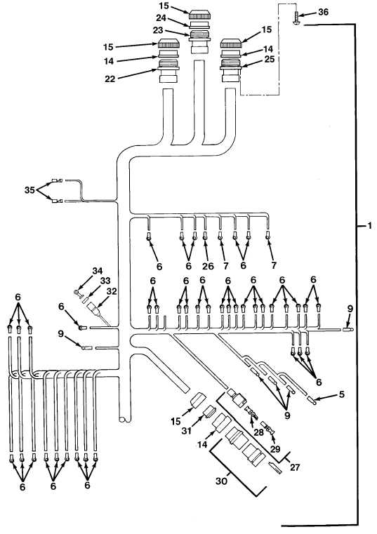 FIG.122 CAB WIRING HARNESS (SHEET 2 OF 2)
