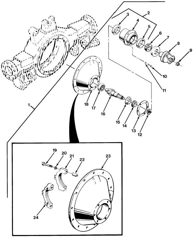 FIG.179 NO. 1 DIFFERENTIAL CARRIER ASSEMBLY (SHEET 1 OF 2)