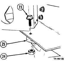 13-18. REAR TANDEM CROSSMEMBER REMOVAL/iNSTALLATION. (cont)
