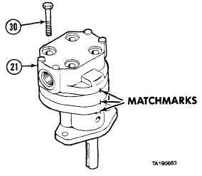 22-3. PRIMARY PUMP HYDRAULIC MOTOR REPAIR (CONT)