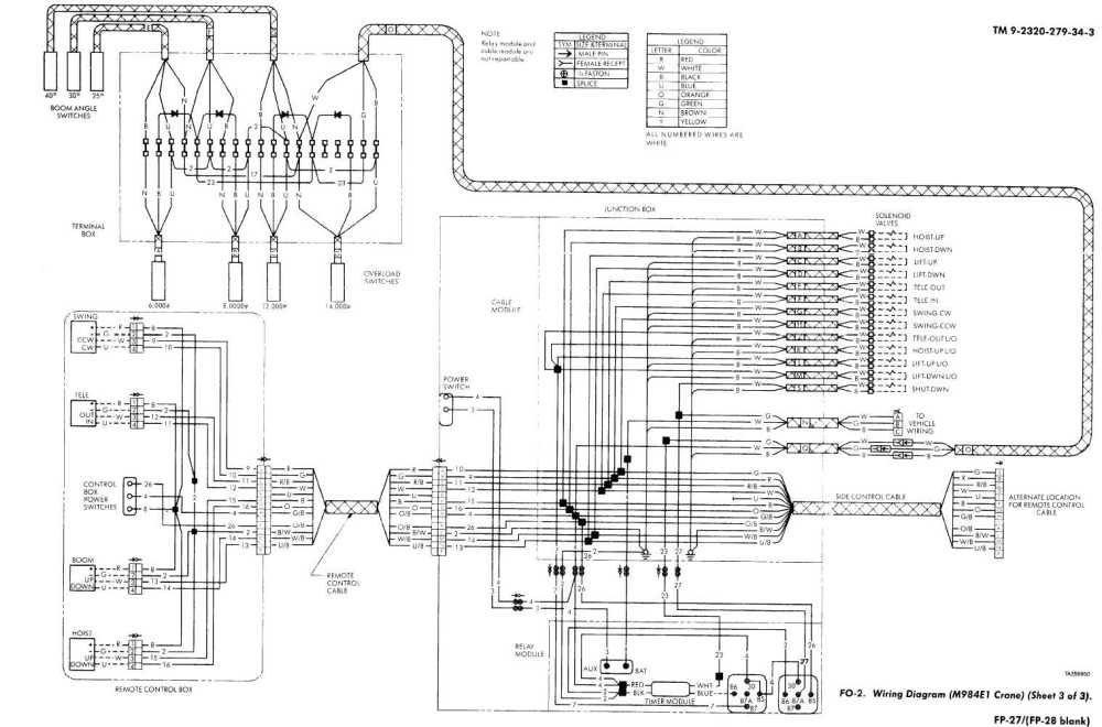 medium resolution of wiring diagram m984e1 crane sheet 3 of 3