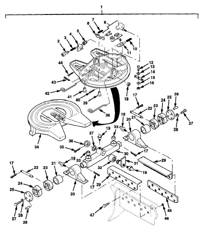 Figure 191. Fifth Wheel Assembly