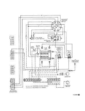 Figure 107 Blackout Lighting Kit Wiring Diagram