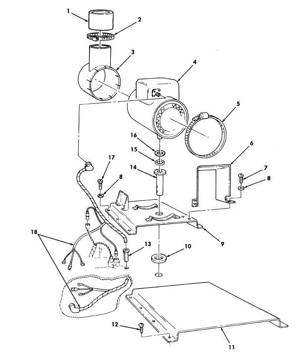 Figure 387. Winterization Kit, Heater and Exhaust Diverter