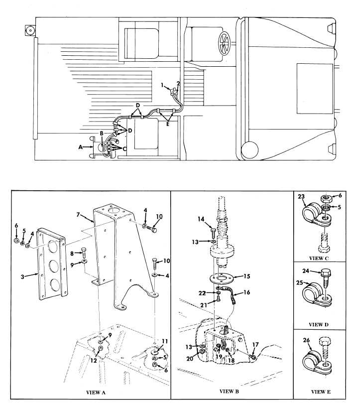 Figure 426. Communications Kit, Radio Cables, AN/VRC-46