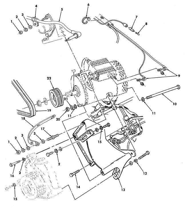 Figure 472. 100 AMP Dual Voltage Alternator and Regulator