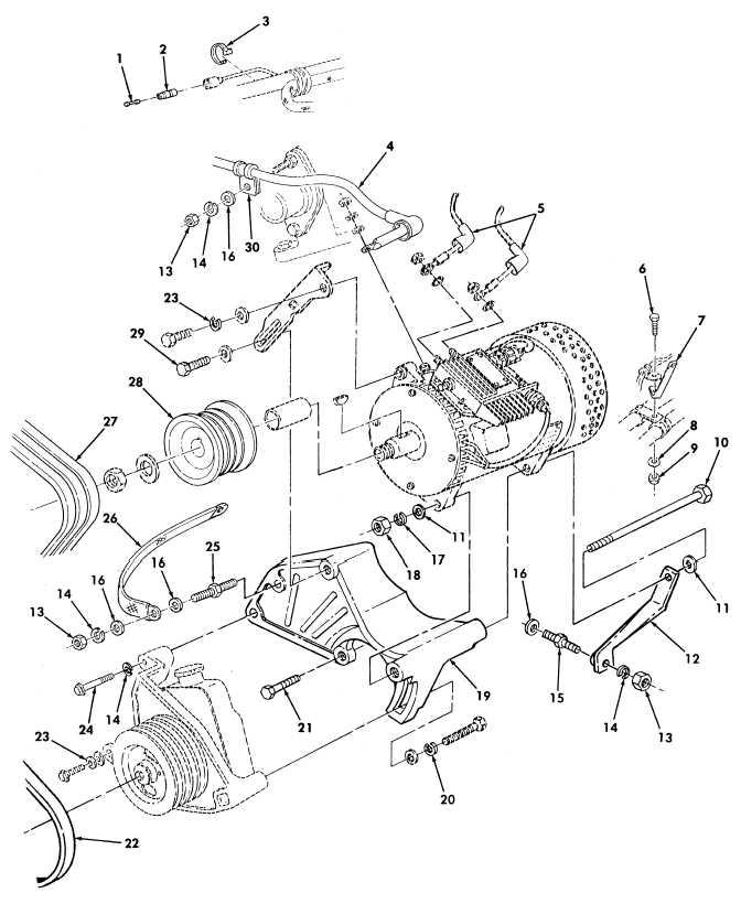 Figure 475. 200 AMP Dual Voltage Alternator and Regulator