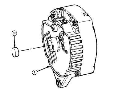 4-2. ALTERNATOR TESTING AND REPAIR (ALL EXCEPT M1010