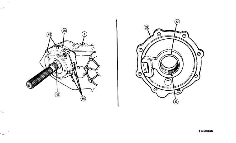 5-22. TRANSFER CASE MAINTENANCE (M1028A1 AND M1031) (Cont