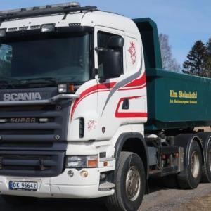 Scania R500 6x4 Manual