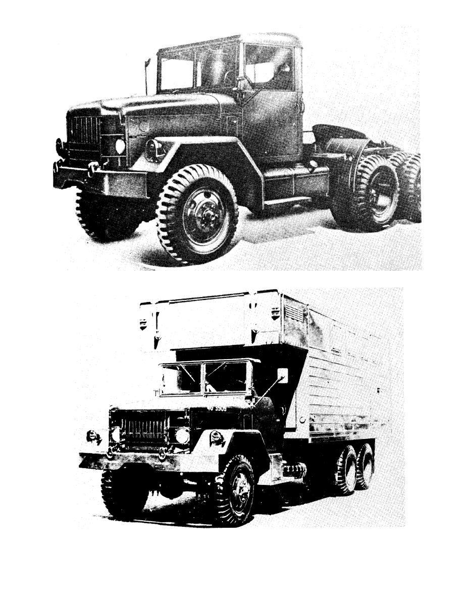 Figure 2-9. Truck, van, expansible, 2 1/2-ton, 6x6, M292.