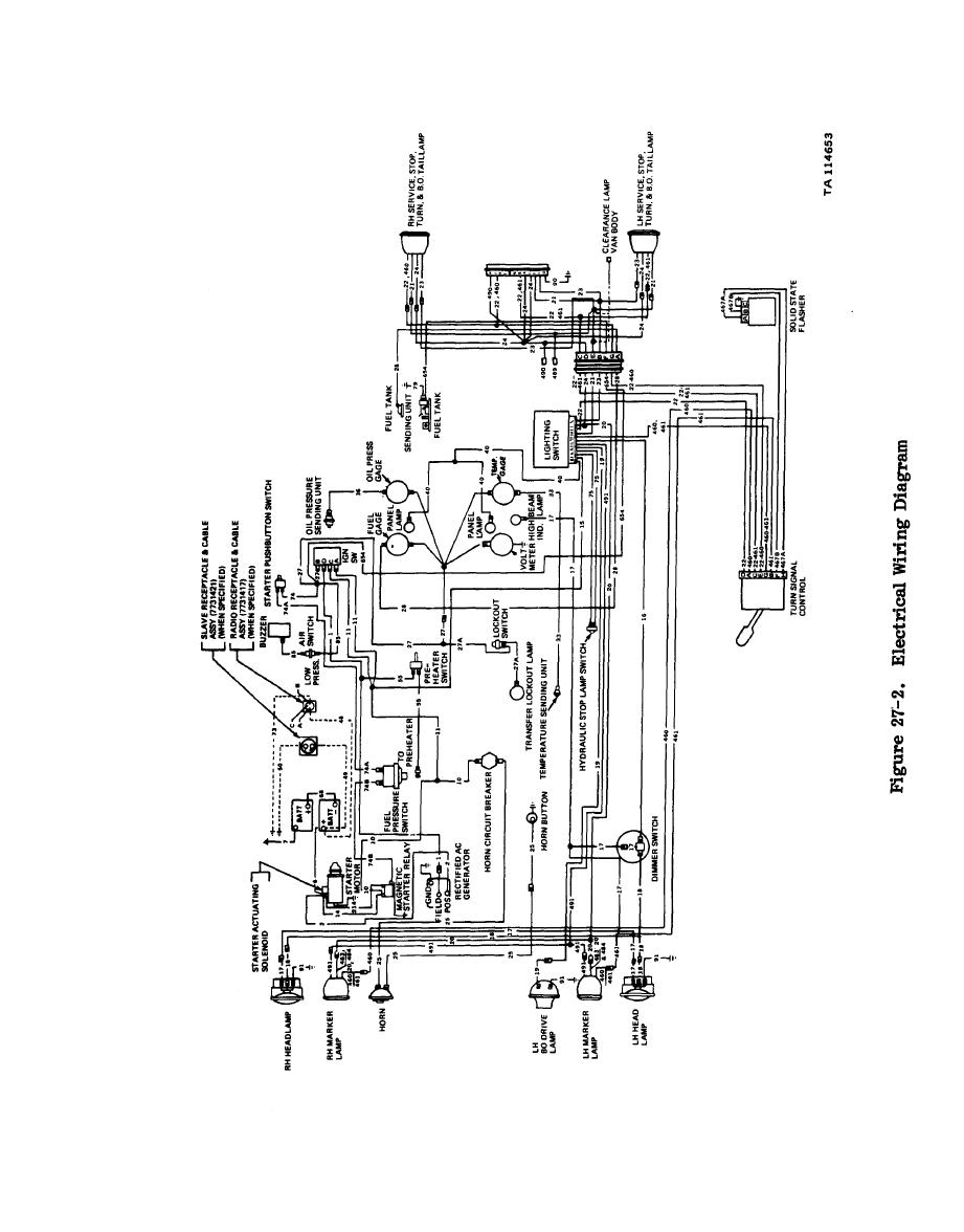Figure 27-2. Electrical Wiring Diagram