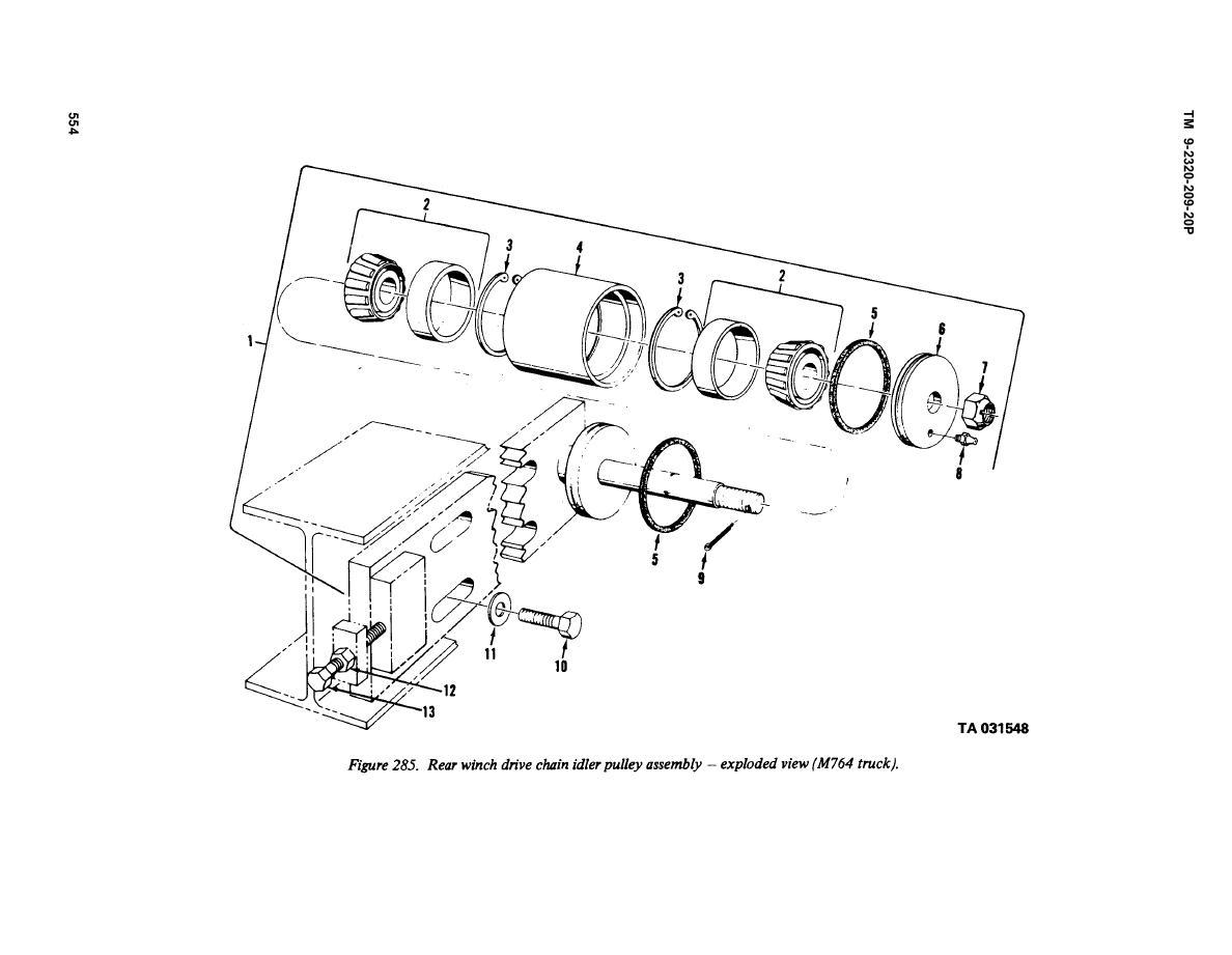 /.5ton/TM-9-2320-209-20P Instrument Repair Shop Truck