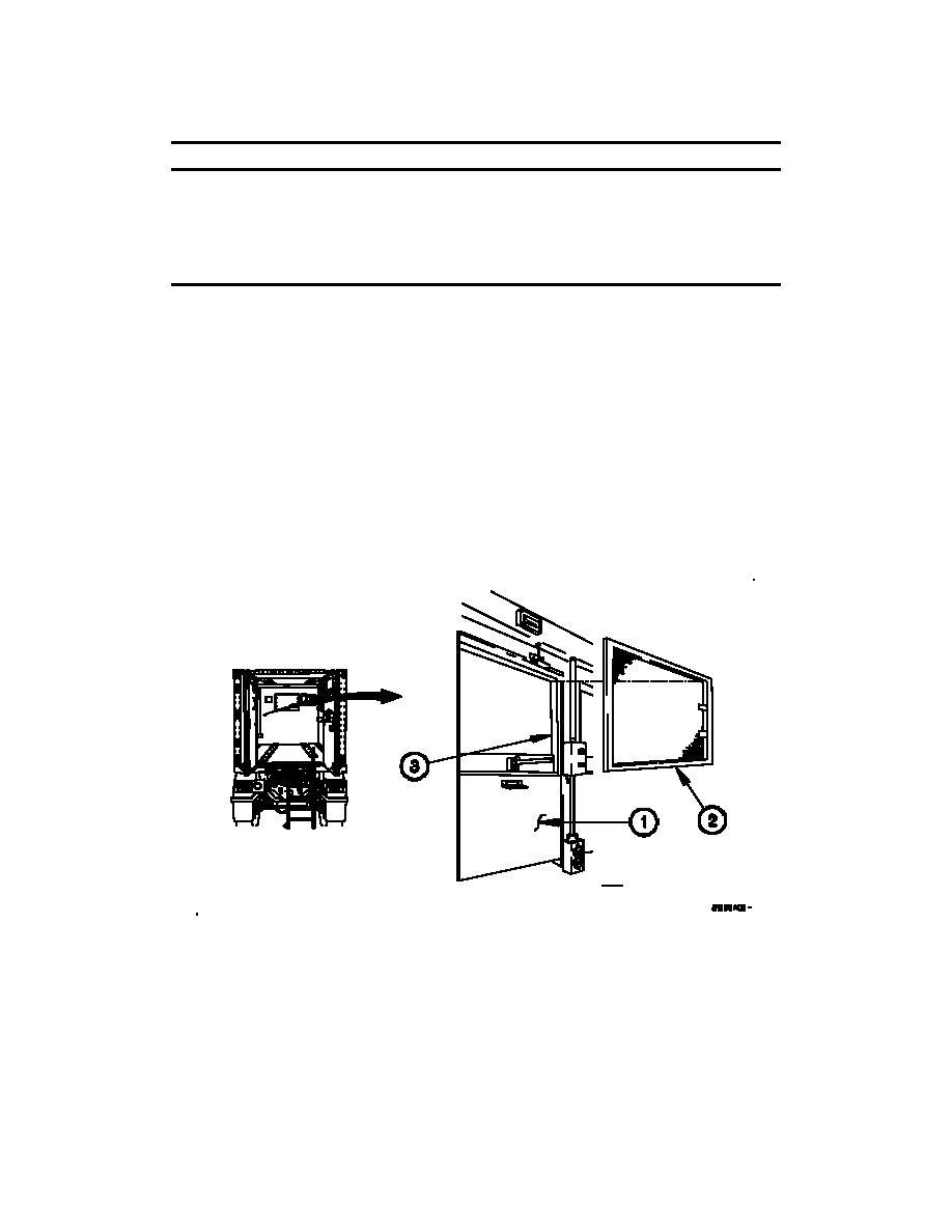 M1079A1 VAN WINDOW OPERATION