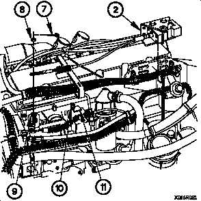 THROTTLE POSITION SENSOR (TPS) CABLE ASSEMBLY REPLACEMENT