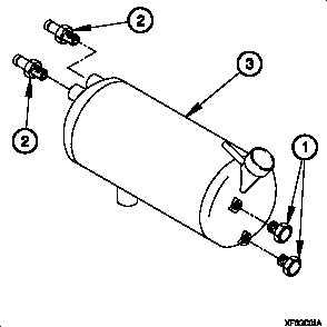 Radiator Overflow Tank Assembly.
