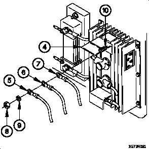 100 AMP ALTERNATOR TO REVERSE POLARITY RELAY 24 VDC CABLE