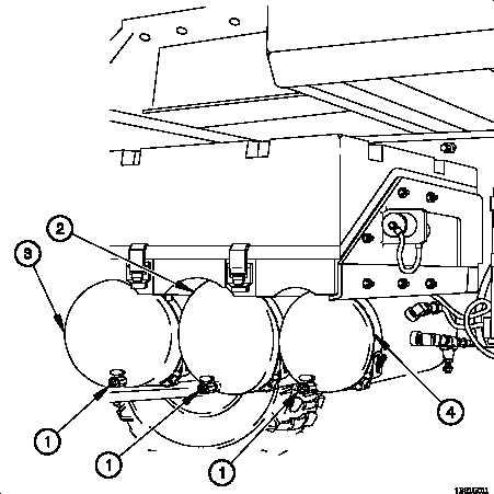 Draining Air Tanks.