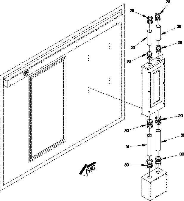 FIGURE 229. VAN ELECTRICAL BOXES, SWITCHES AND FITTINGS
